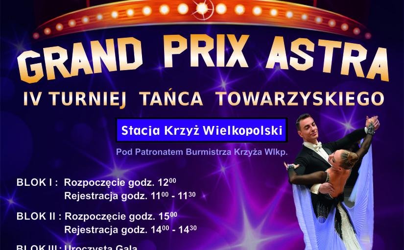 IV Turnieju Tańca Towarzyskiego w Krzyżu Wlkp.